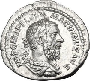 obverse: Macrinus (217-218).. AR Denarius