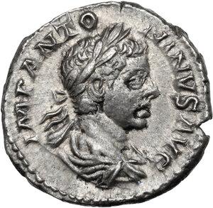 obverse: Elagabalus (218-222).. AR Denarius, Rome mint