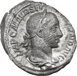 obverse: Severus Alexander (222-235 AD).. AR Denarius, 227 AD