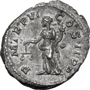 reverse: Severus Alexander (222-235 AD).. AR Denarius, 227 AD