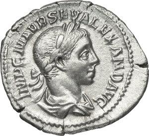 obverse: Severus Alexander (222-235).. AR Denarius, 222-228 AD