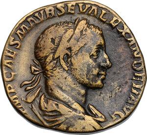obverse: Severus Alexander (222-235).. AE Sestertius, 223 AD