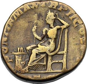 reverse: Severus Alexander (222-235).. AE Sestertius, 223 AD