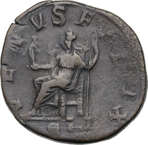 reverse: Julia Mamaea, mother of Severus Alexander (died 235 AD).. AE Sestertius