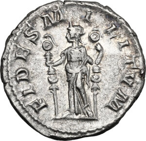 reverse: Maximinus I (225-238).. AR Denarius, Rome mint, 236 AD
