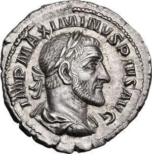 obverse: Maximinus I (235-238).. AR Denarius, Rome mint