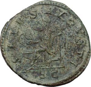 reverse: Maximinus I (235-238).. AE Sestertius, Rome mint. 236-238 AD