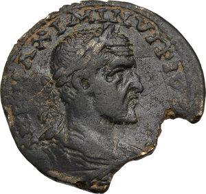 obverse: Maximinus I with Maximus Caesar (235-238). AE 32 mm, Ninica-Claudiopolis mint, Cilicia