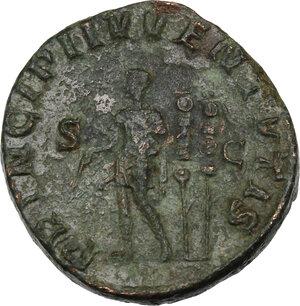 reverse: Maximus (Caesar 235-238).. AE Sestertius, Rome mint