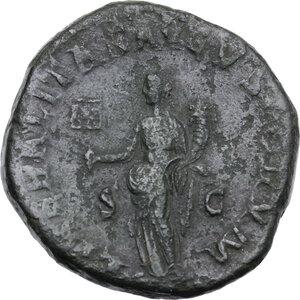 reverse: Pupienus (238 AD).. AE Sestertius, Rome mint