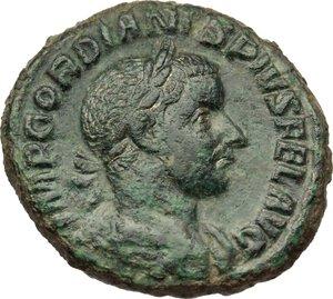 obverse: Gordian III (238-244).. AE As