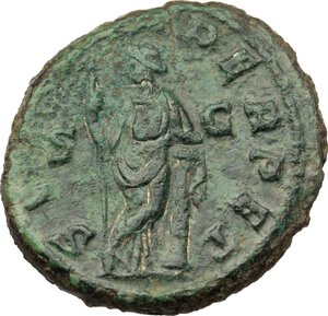 reverse: Gordian III (238-244).. AE As