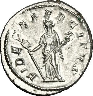 reverse: Philip I (244-249).. AR Antoninianus, Rome mint