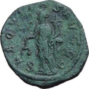 reverse: Philip I (244-249).. AE Sestertius, 244-249 AD