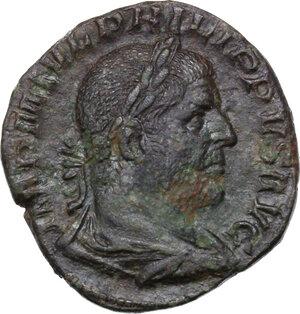 obverse: Philip I (244-249).. AE Sestertius, Rome mint, 249 AD