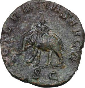reverse: Philip I (244-249).. AE Sestertius, Rome mint, 249 AD