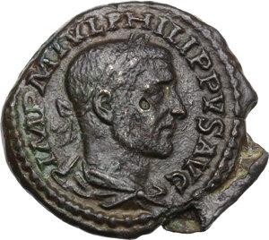 obverse: Philip I (244-249).. AE 23.5 mm. Deultum mint, Thrace
