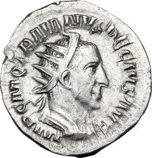 obverse: Trajan Decius (249-251).. AR Antoninianus, Rome mint