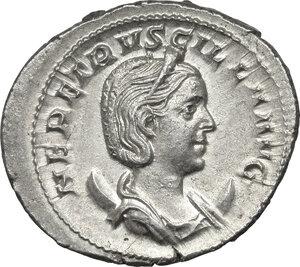 obverse: Etruscilla, wife of Trajan Decius (249-251 AD).. AR Antoninianus, 250 AD