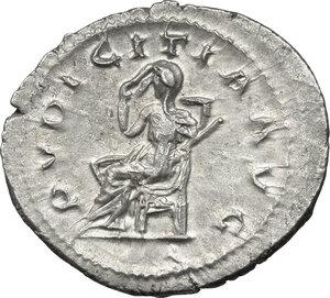 reverse: Etruscilla, wife of Trajan Decius (249-251 AD).. AR Antoninianus, 250 AD