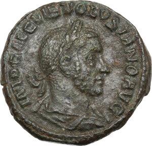 obverse: Volusian (251-253).. AE As, Rome mint