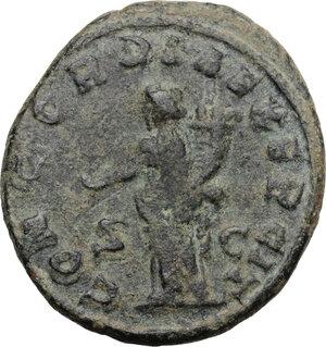 reverse: Valerian I (253-260).. AE As, Rome mint
