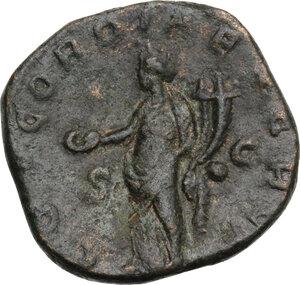 reverse: Valerian I (253-260).. AE Sestertius, Rome mint