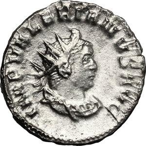 obverse: Valerian I (253-260).. AR Antoninianus, 258 AD, Mediolanum mint