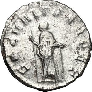 reverse: Valerian I (253-260).. AR Antoninianus, 258 AD, Mediolanum mint