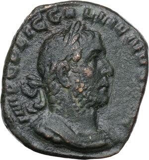 obverse: Gallienus (253-268).. AE Sestertius, 254-255 AD. Rome mint