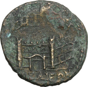 reverse: Gallienus (253-268).. AE Octassarion, Nicaea mint, Bithynia