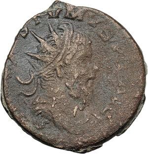 obverse: Postumus (259-268). AE Sestertius, Lugdunum mint