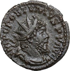 obverse: Postumus (259-268).. BI Antoninianus. Treveri (Trier) mint, 268 AD
