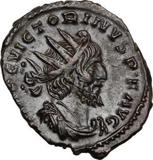 obverse: Victorinus (268-270).. BI Antoninianus, Colonia Agrippinensis or Treveri, 270-271 AD