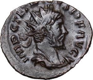 obverse: Tetricus I (270-273).. AE Antoninianus, Colonia Agrippina