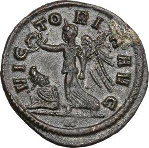 reverse: Aurelian (270-275).. AE Denarius, Rome mint