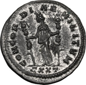 reverse: Severina, wife of Aurelian (270-275 AD).. BI Antoninianus, 275 AD. Ticinum mint
