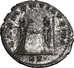 reverse: Tacitus (275-276).. BI Antoninianus, Antioch mint