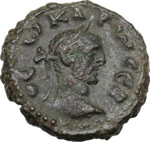 obverse: Carus (282-283). BI Tetradrachm, Alexandria mint, Aegypt