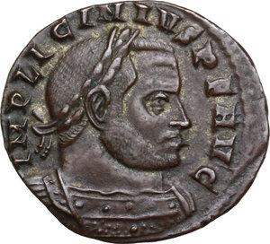 obverse: Licinius I (308-324).. AE (Half?) Follis, Rome mint, 314 AD