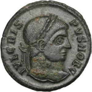 obverse: Crispus (Caesar, 317-326).. AE Follis. Siscia mint