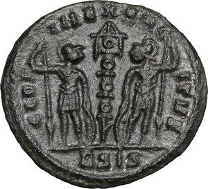 reverse: Delmatius (Caesar, 335-337).. AE 17 mm. Siscia mint