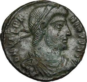 obverse: Vetranio (350 AD).. AE 18 mm. Siscia mint