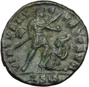 reverse: Vetranio (350 AD).. AE 18 mm. Siscia mint