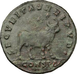 reverse: Julian II (360-363).. AE 28 mm. Constantinople mint