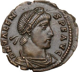 obverse: Valens (364-378).. AE 18.5 mm. Rome mint