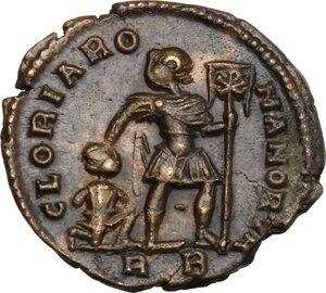reverse: Valens (364-378).. AE 18.5 mm. Rome mint