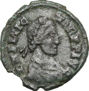 obverse: Flavius Victor (387-388).. AE 14 mm. Uncertain mint, possibly Aquileia