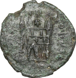 reverse: Flavius Victor (387-388).. AE 14 mm. Uncertain mint, possibly Aquileia