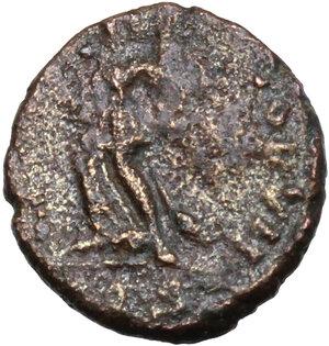 reverse: Eugenius (392-394).. AE 12 mm. Aquileia (?) mint